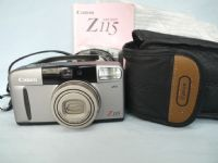 Canon Sure Shot Z115 Cased Compact Zoom Camera + Inst £12.99